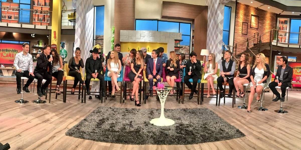 Primera generación de La Academia se presenta en Televisa