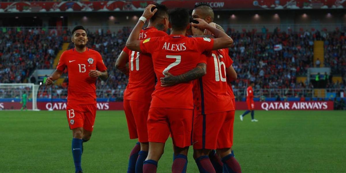 """""""Las fieras de Chile"""": En Portugal ya palpitan la semifinal de la Confederaciones"""