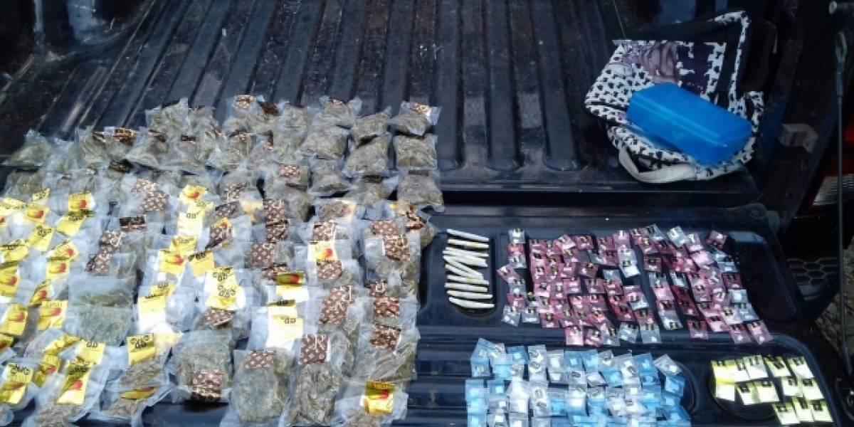 Autoridades aseguran más de 4 mil 300 dosis de diferentes drogas en Guadalajara