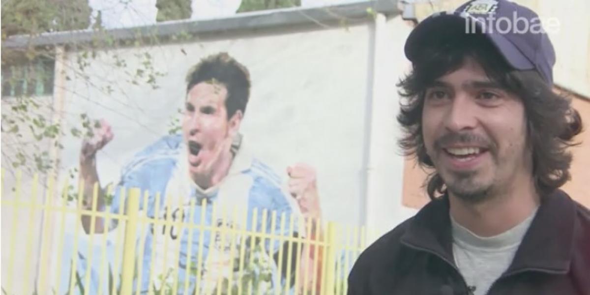 Él es el personaje que nunca imaginó recibir una invitación para la boda de Messi