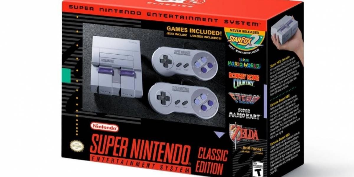 Super NES Classic Edition ya tiene fecha de lanzamiento y precio