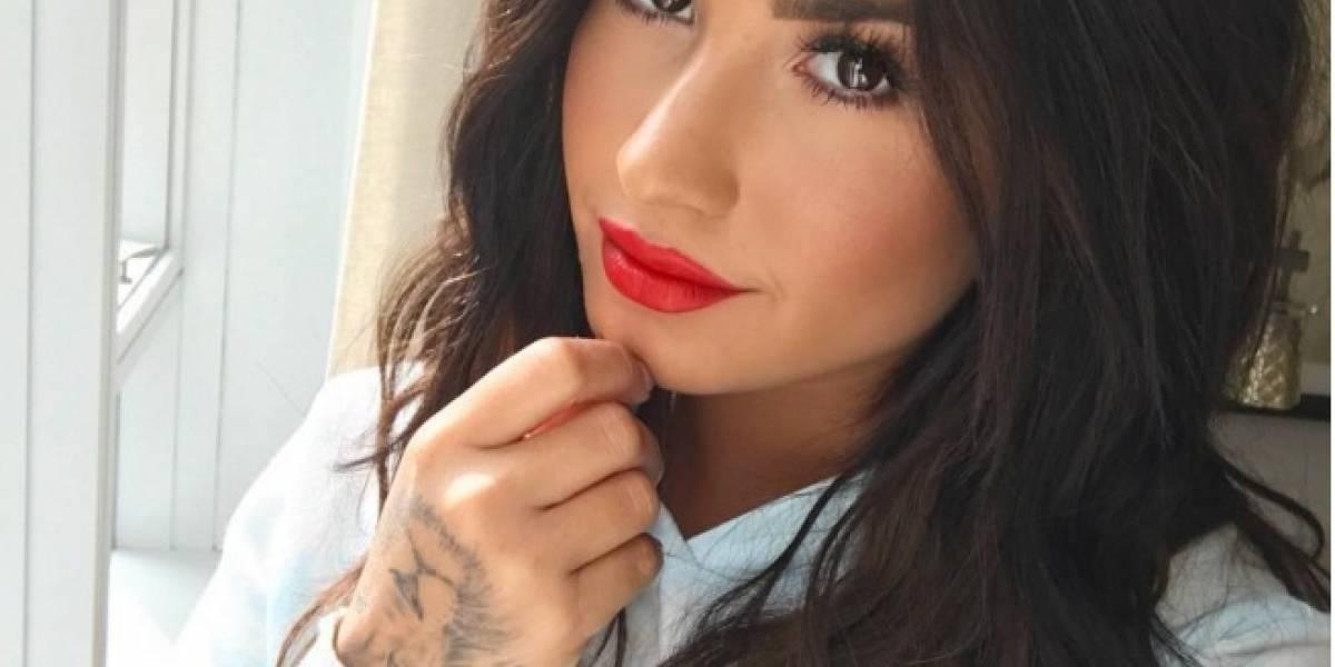 Demi Lovato causa furor por sus pechos en Instagram