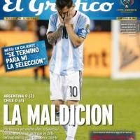 El Gráfico Argentina sufrió con una nueva derrota ante La Roja