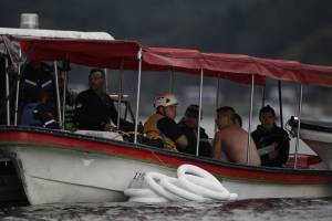 Barco hundido en Guatapé era artesanal, dice miembro de Defensa Civil