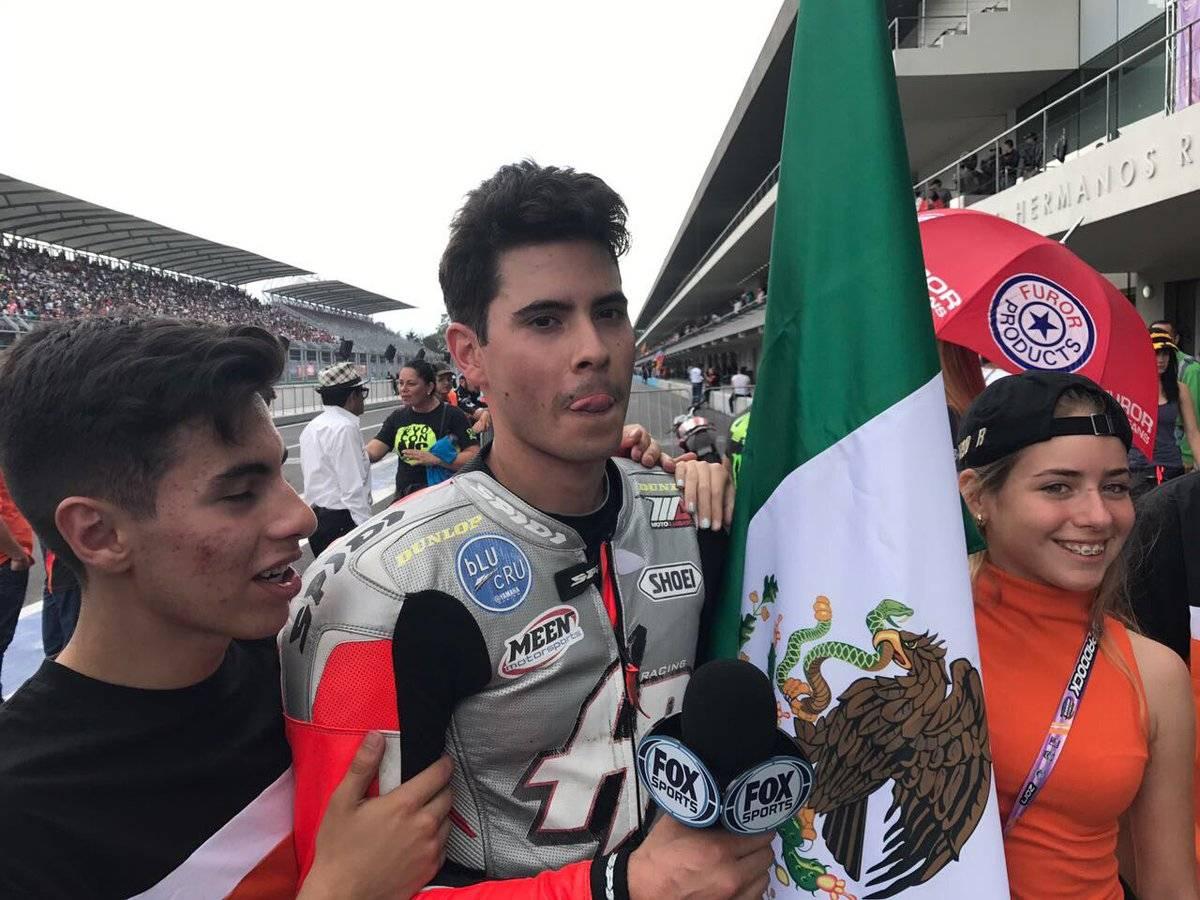 Ricardo Escalante subió al podio en la rama varonil
