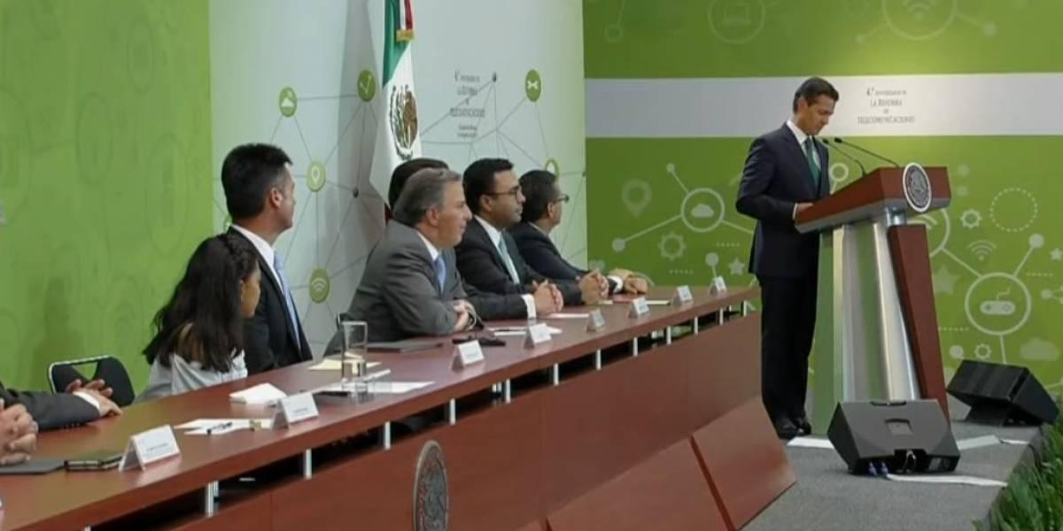 Sector de telecomunicaciones creció 10% gracias a reforma: Peña Nieto