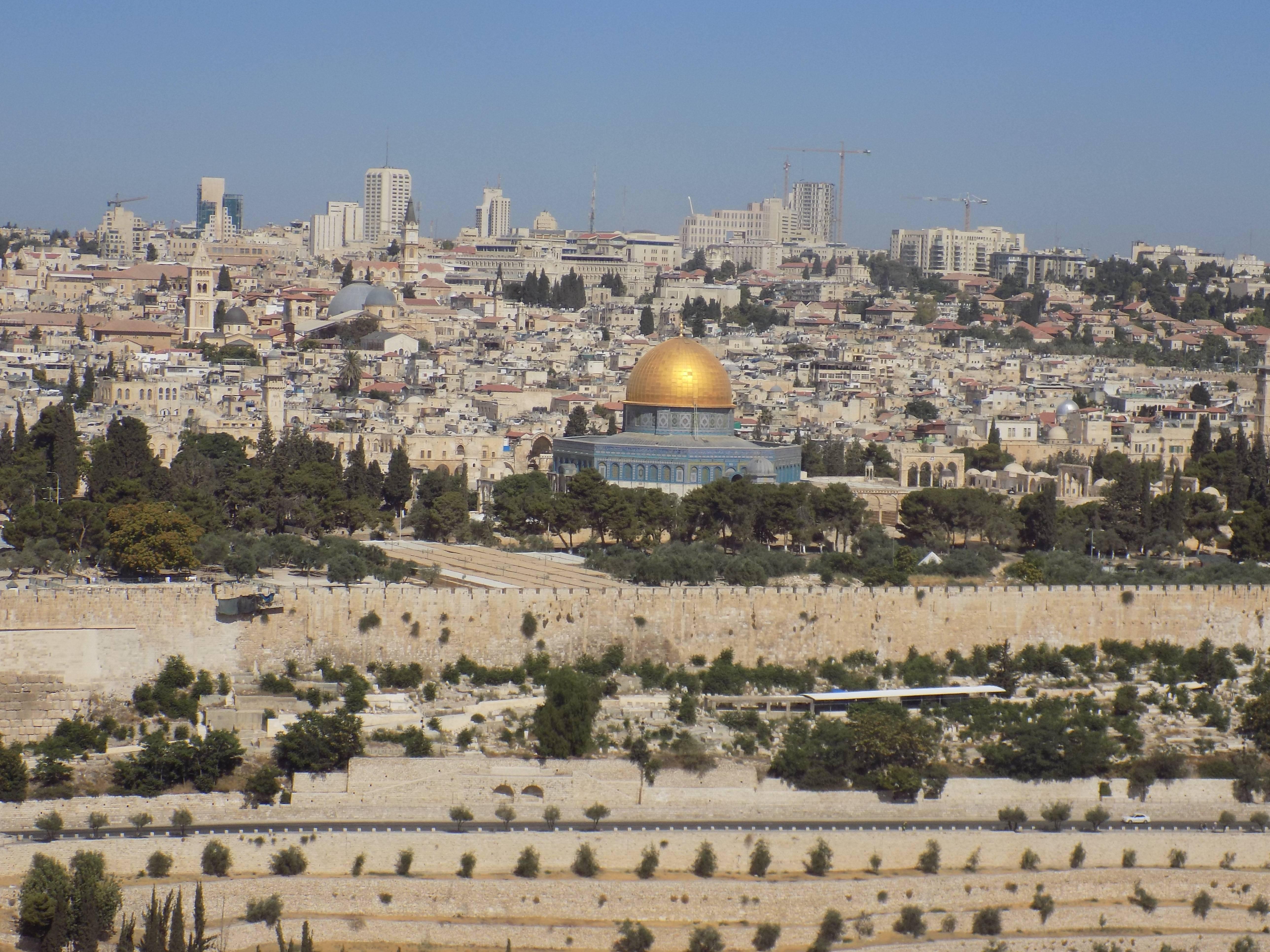 Entre la modernidad y la historia, vista panorámica de Jerusalén Foto: Miguel Velázquez