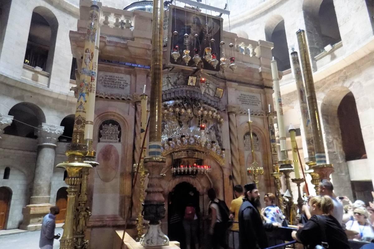 Interior de la Iglesia del Santo Sepulcro Foto: Miguel Velázquez