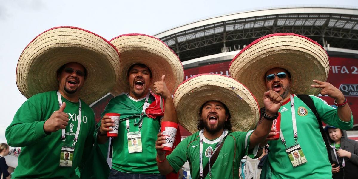 """Aficionado mexicano """"engaña"""" a su mujer para ir a la Confederaciones"""
