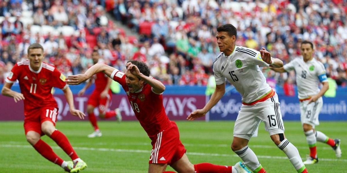 Político pide golpear a futbolista ruso por expulsión ante México