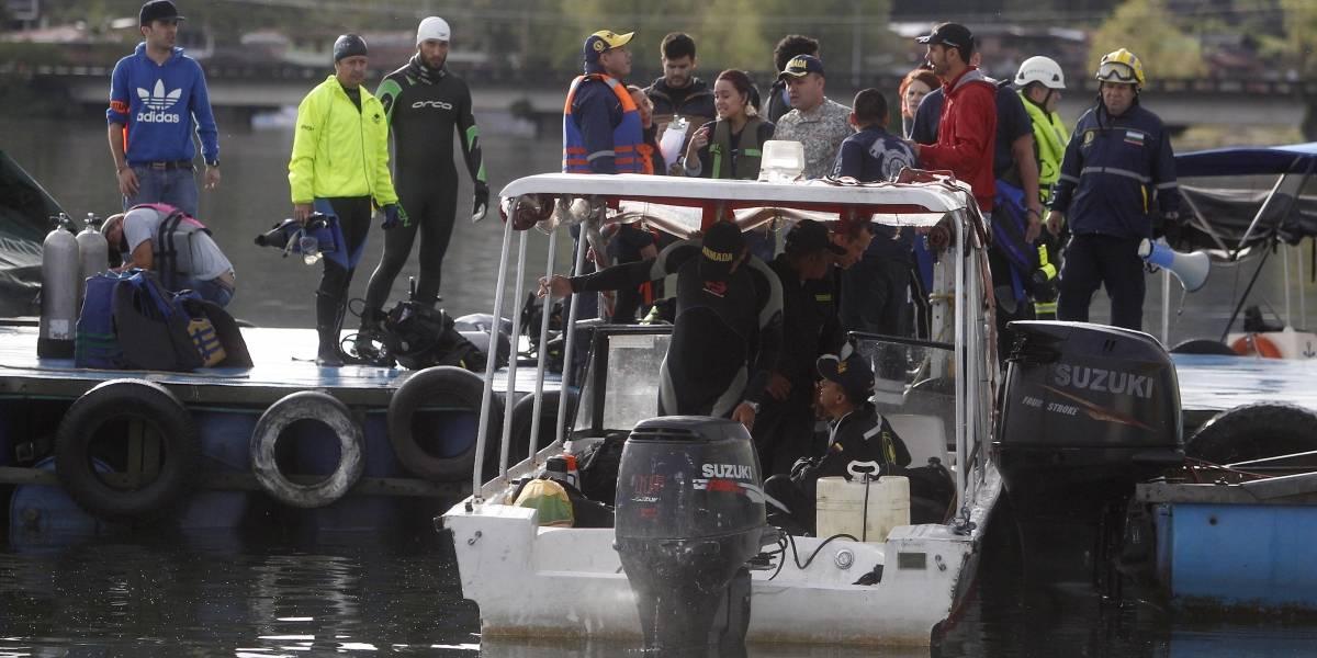 Autoridades confirman 7 muertos y 13 desaparecidos por naufragio en Guatapé