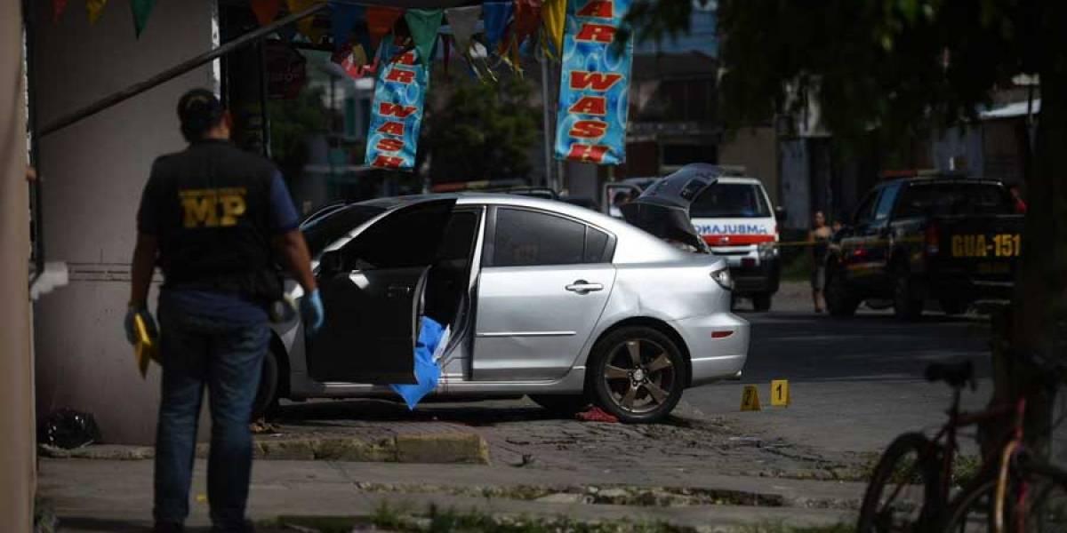 En dos hechos, matan a surcoreano y a menor en Villa Nueva