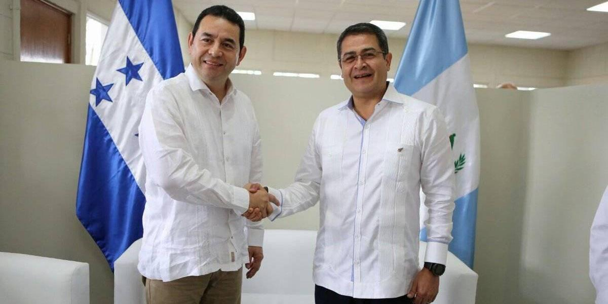 Guatemala y Honduras inician unión aduanera en Centroamérica