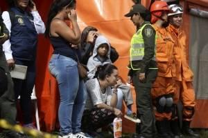 Rescate por naufragio en Colombia