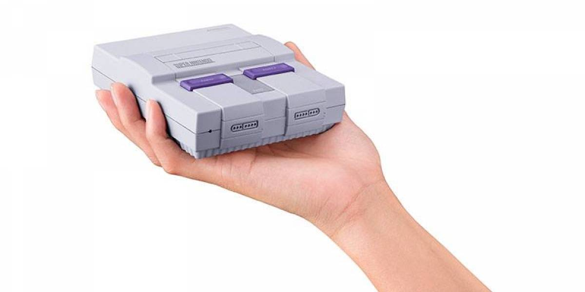 ¡Nintendo lanzará una versión mini del SNES con 21 juegos clásicos!