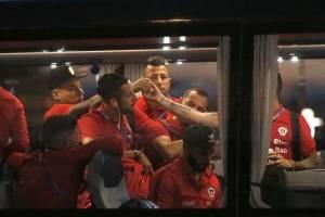 La Roja llegó a Kazán / imagen: Photosport