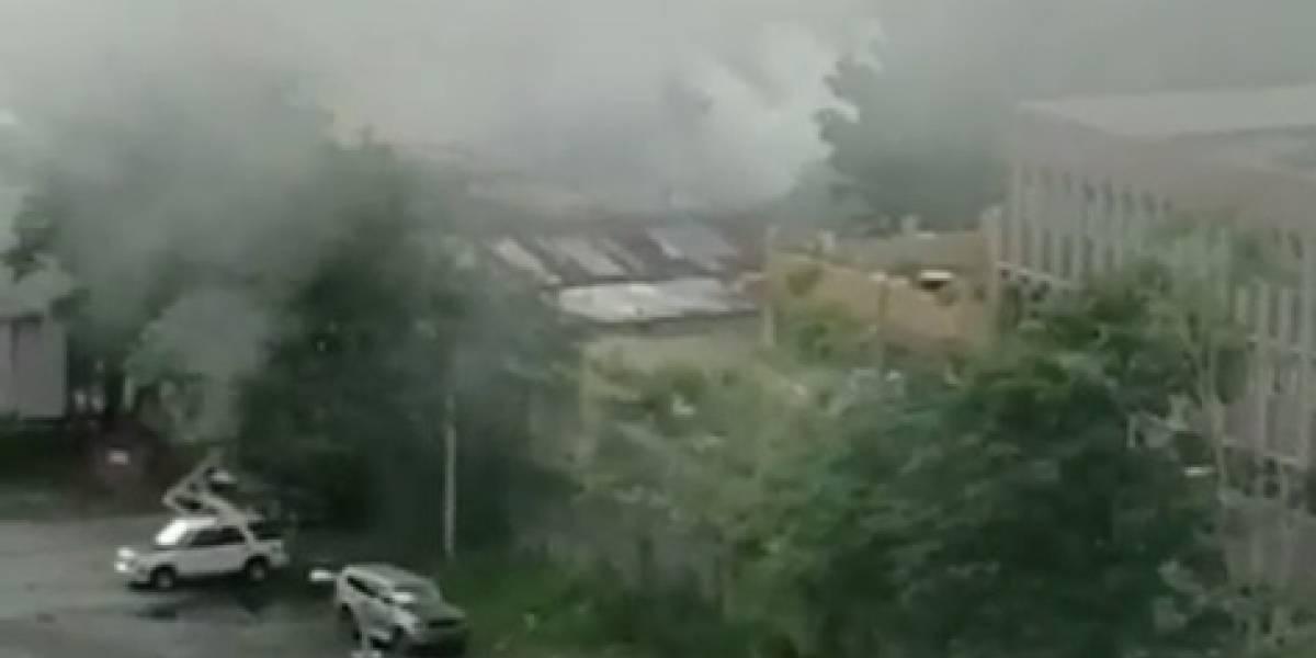 Se incendia residencia en Hato Rey