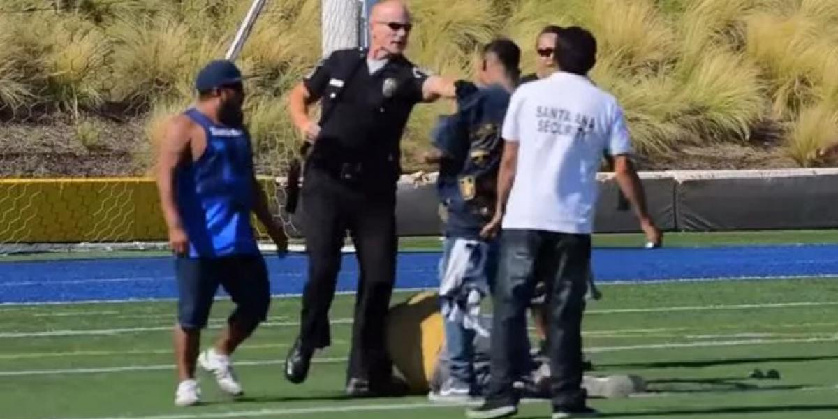 VIDEO: Riña entre aficionados obliga a suspender duelo de leyendas entre América y Pumas