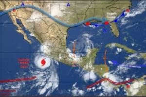 'Dora' se convierte en huracán categoría 1; se ubica frente a Colima y Jalisco