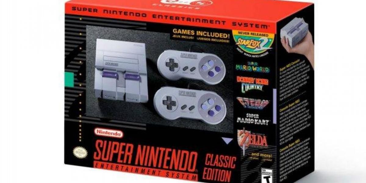 ¡Super Nintendo vuelve en septiembre!: Y con un juego inédito