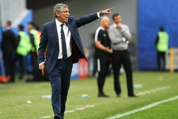 Santos tiene fe ante Chile / EFE