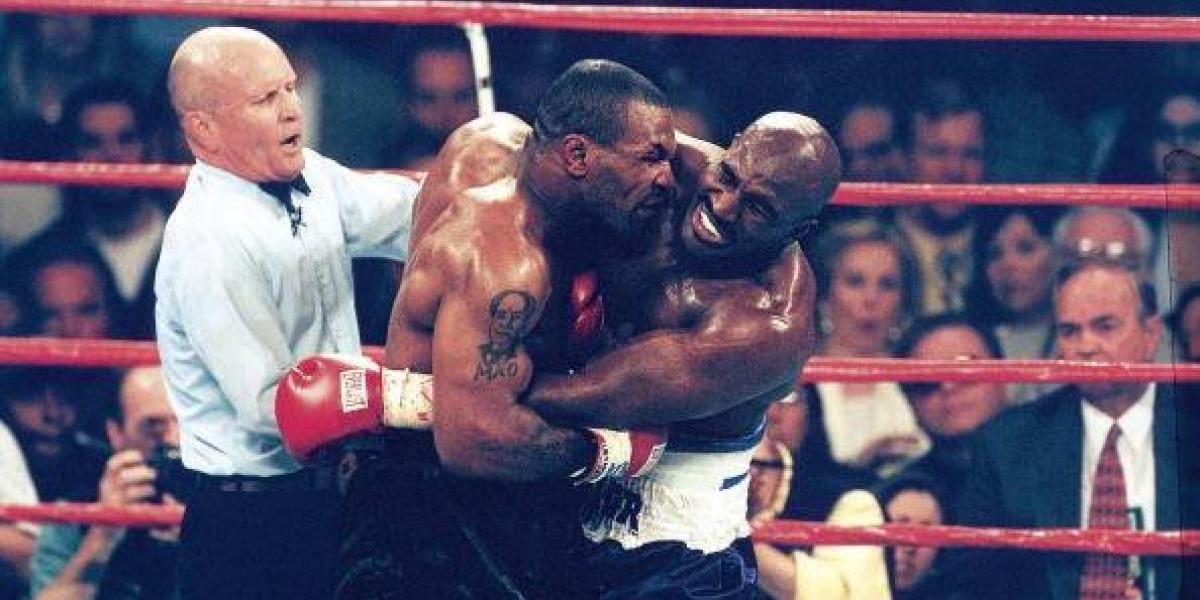 Se cumplen 20 años de la mordida de Mike Tyson a Evander Holyfield
