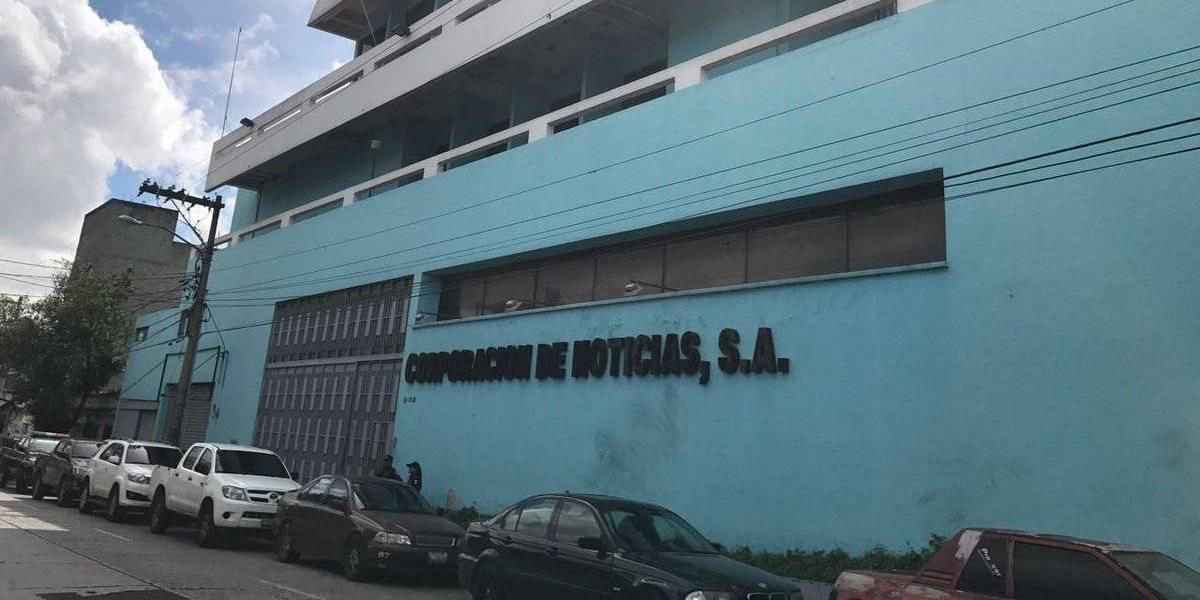 Inmovilizan edificio de Corporación de Noticias, vinculado a Roxana Baldetti