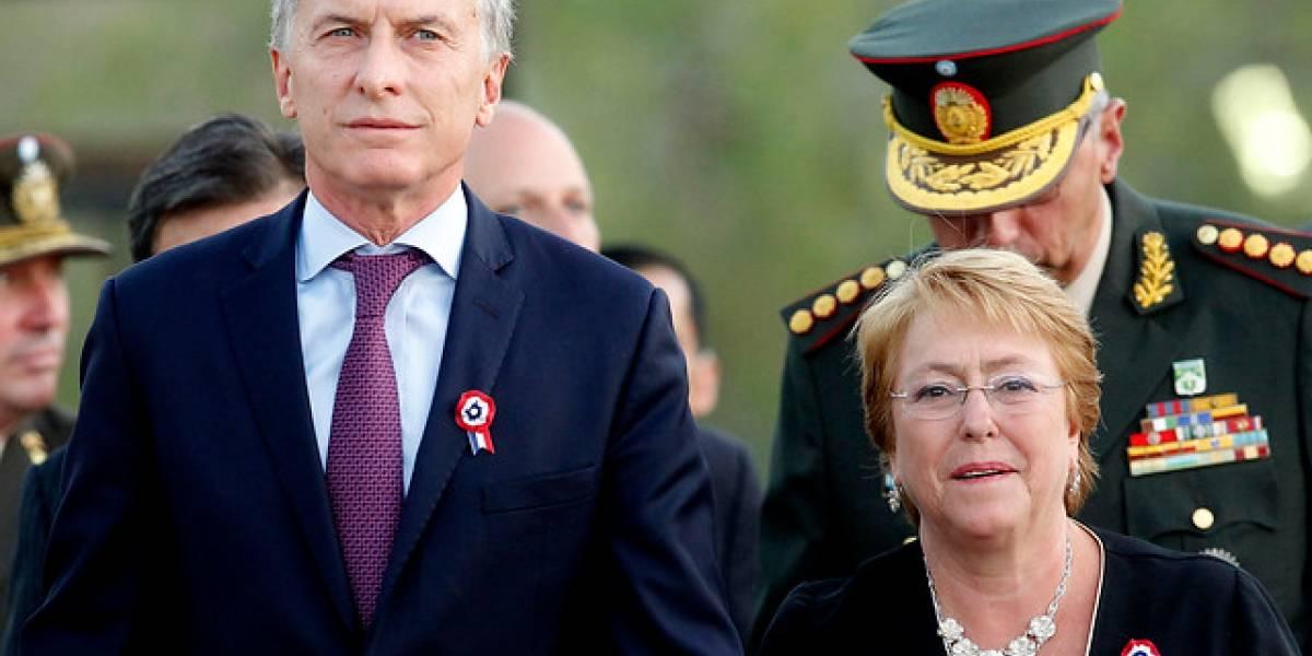 Macri inicia su cuarta visita a Chile como presidente de Argentina para firmar acuerdos bilaterales