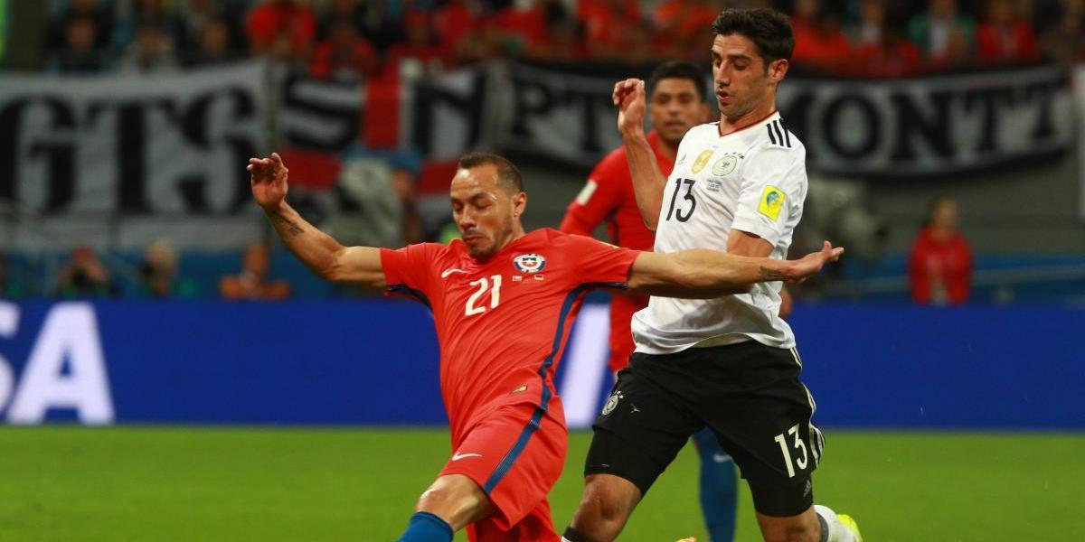 """Marcelo Díaz se ilusiona con eliminar a Portugal: """"Me gustaría una final contra Alemania"""""""