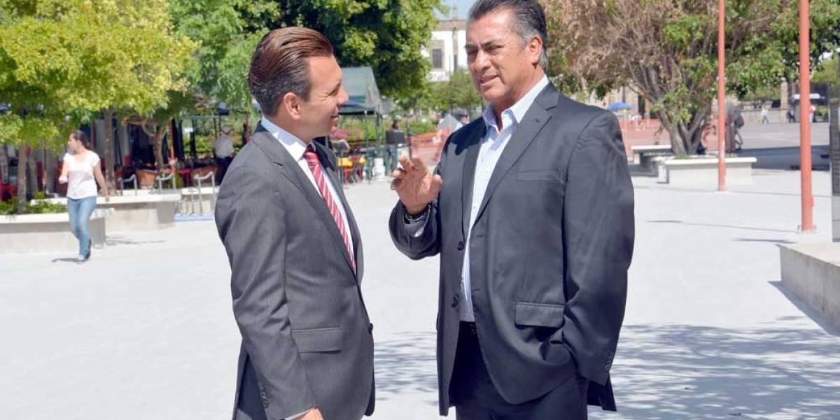Gobernador de Nuevo León corre a periodistas de un evento en Zapopan
