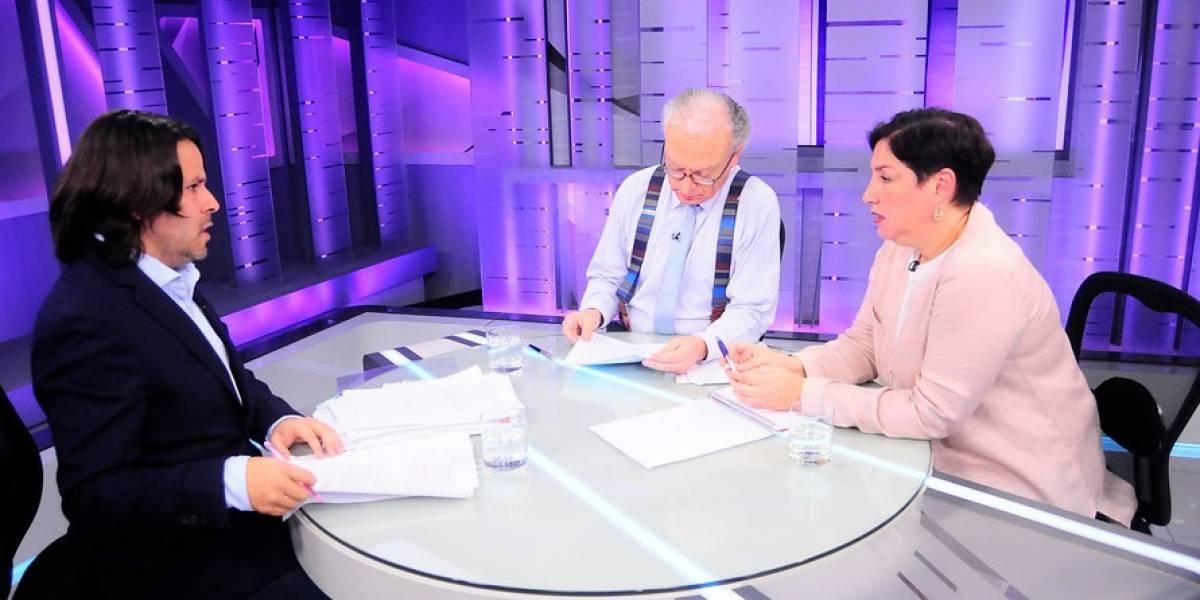 """Sánchez y Mayol realizan debate """"blanco"""" y se diferencian de Chile Vamos"""