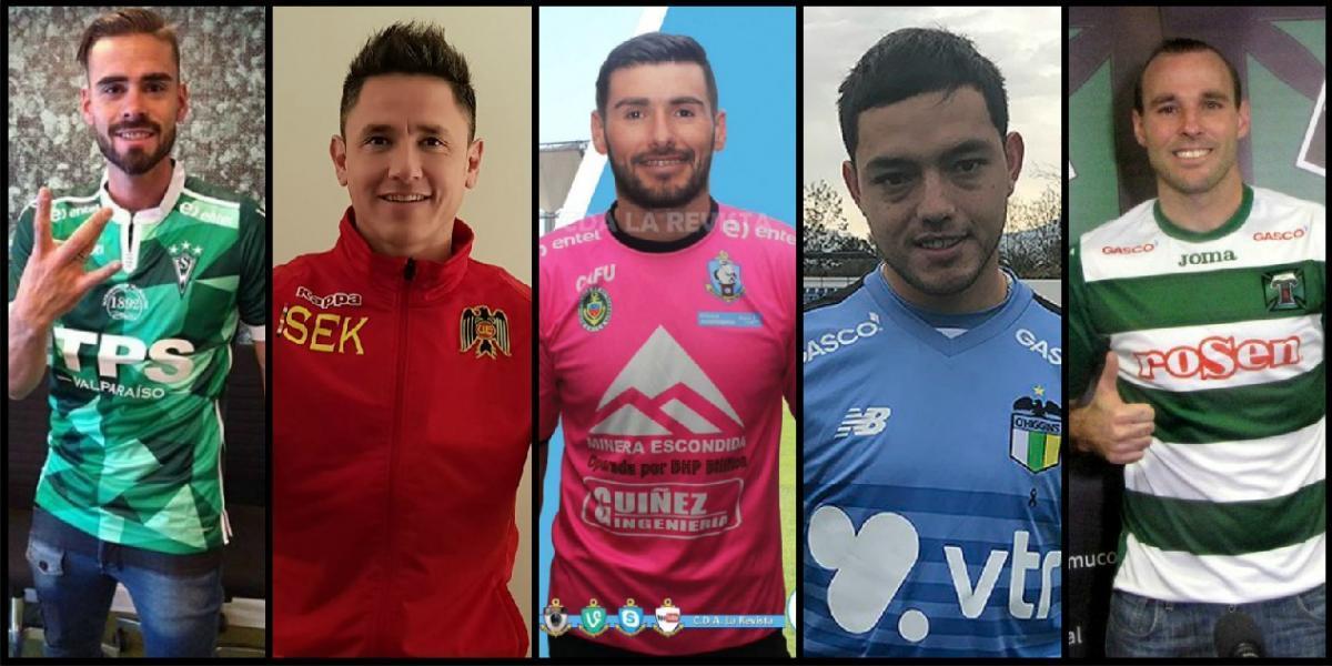 """10 refuerzos de los clubes chilenos para cortar la hegemonia de los """"grandes"""" en el Transición"""