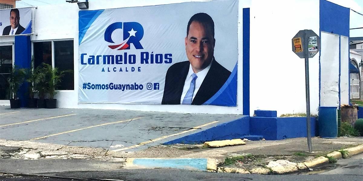 Querella contra Carmelo Ríos por comité de campaña