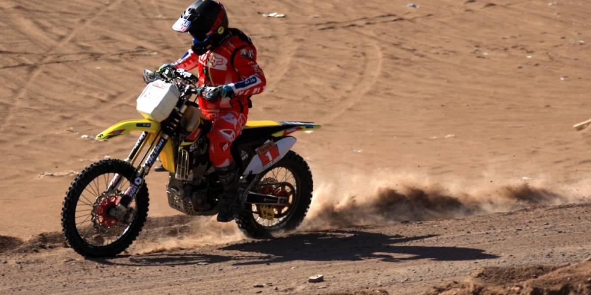 Quintanilla vuelve a las competencias ganando el Desafío del Desierto