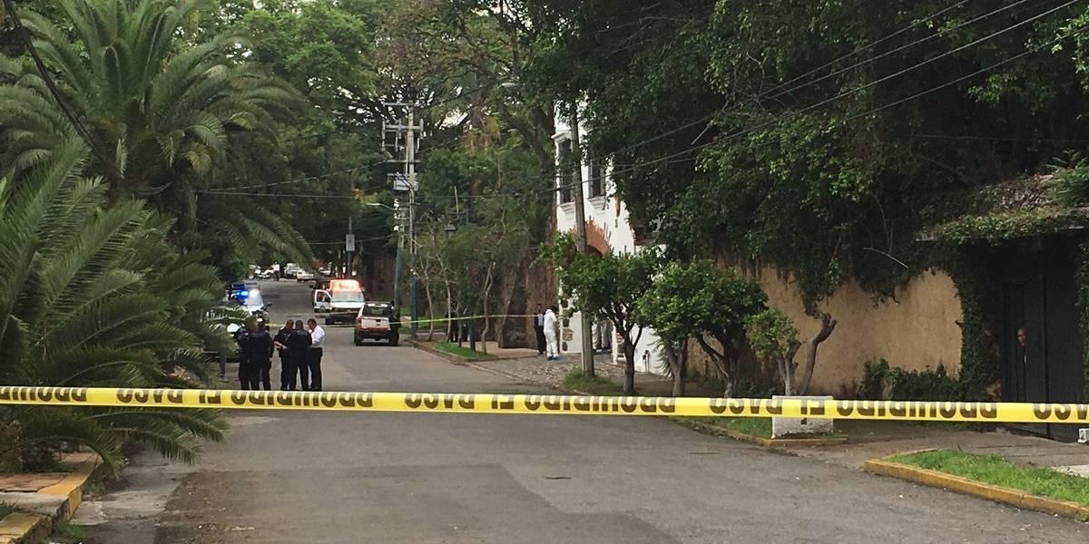 Hieren a guardia tras frustrar asalto frente a residencia del gobierno de Morelos