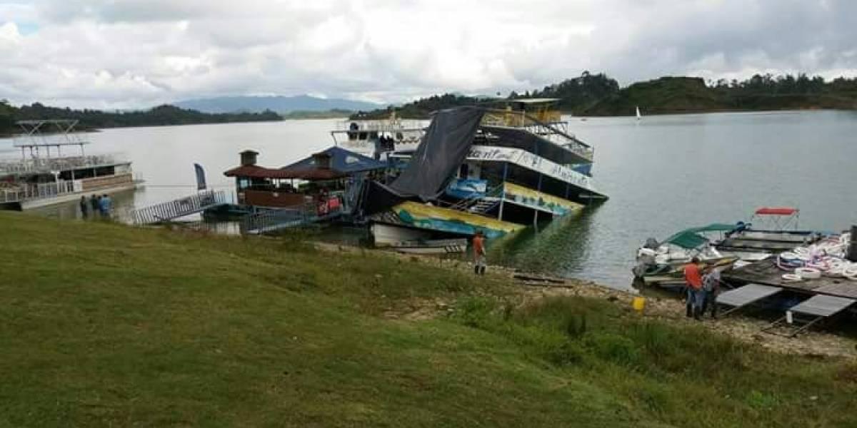 'El Almirante', el barco de la tragedia en Guatapé ya se había hundido antes