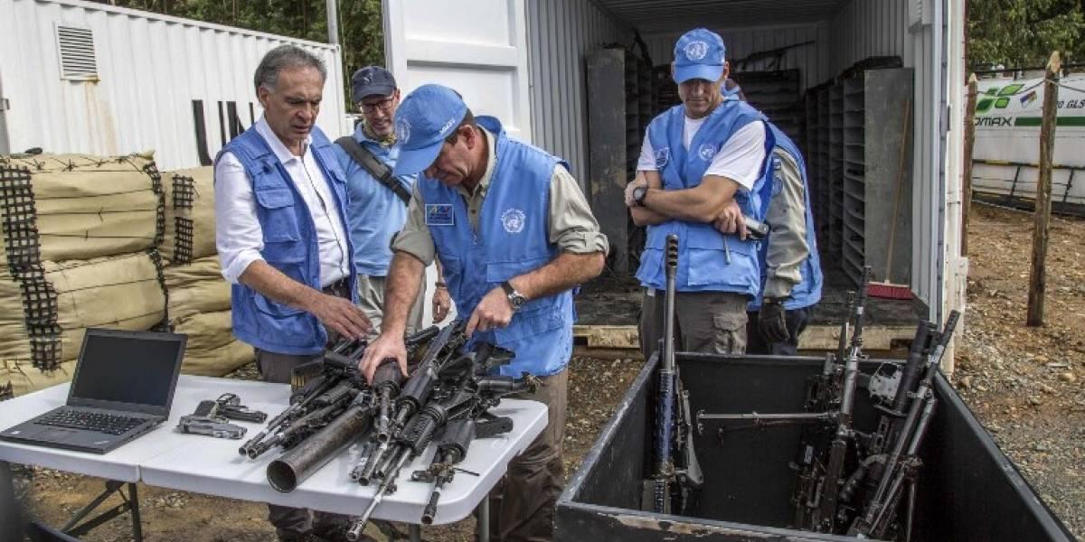 Las FARC celebran histórica entrega de armas en Colombia