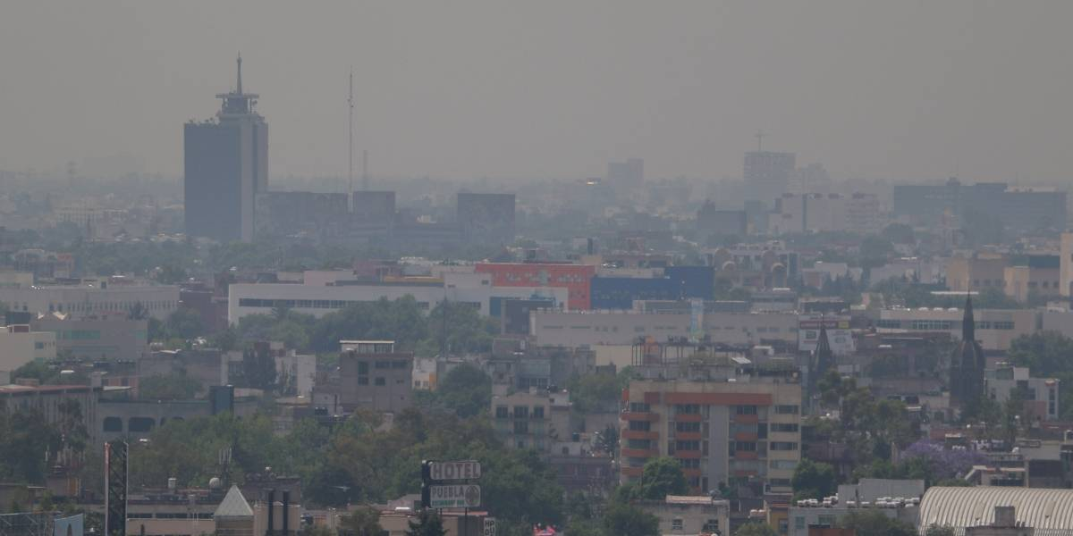 Descartan contingencia pese a altos niveles de ozono en el Valle de México