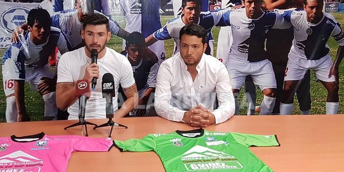 """Paulo Garcés saca chapa en Antofagasta: """"Tengo una trayectoria importante en el fútbol"""""""