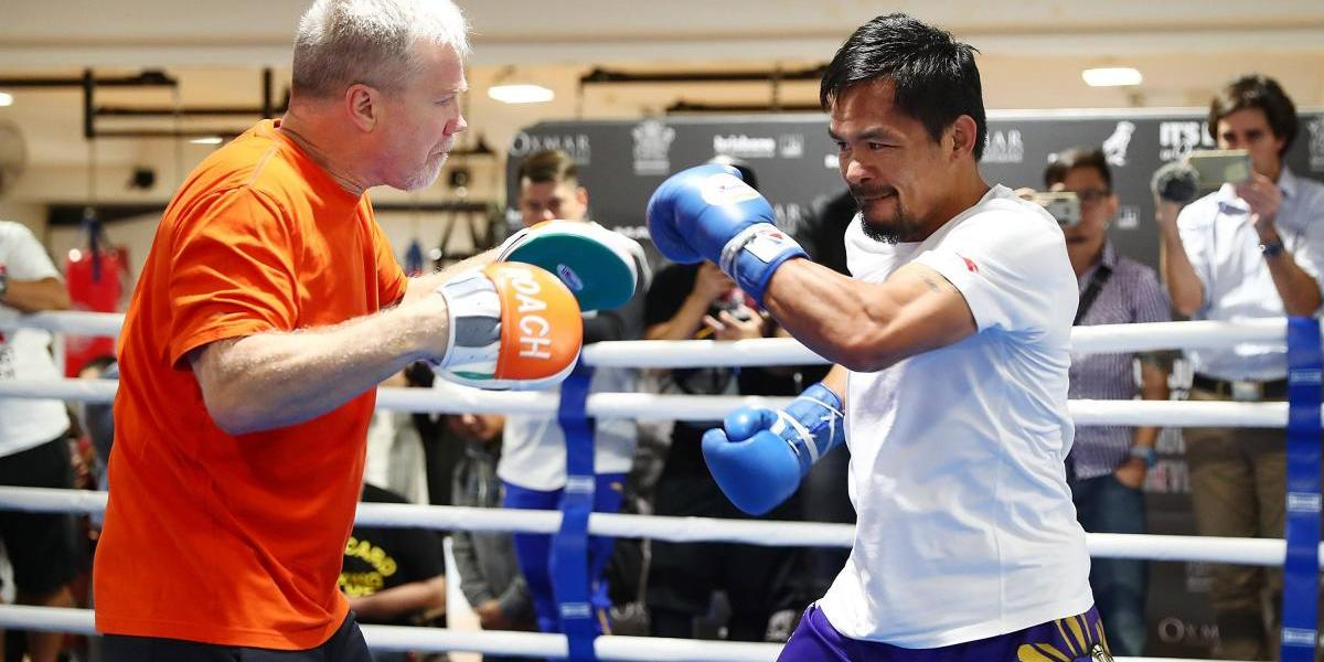 Manny Pacquiao regresa al ring