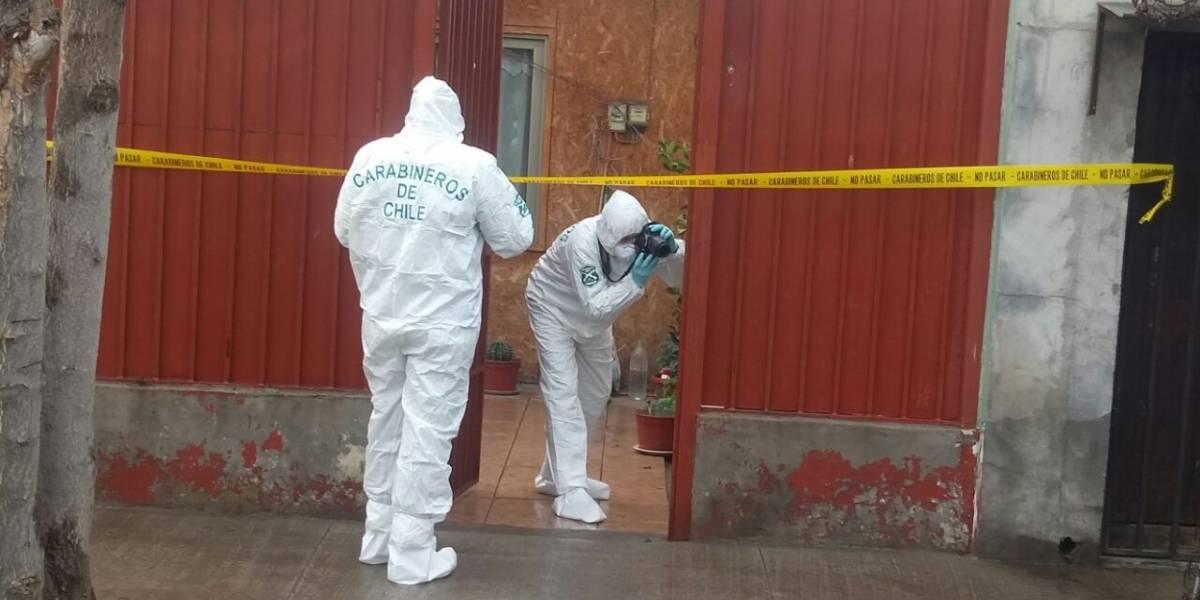 Adolescente mató a puñaladas a su hermana y madre en Quinta Normal