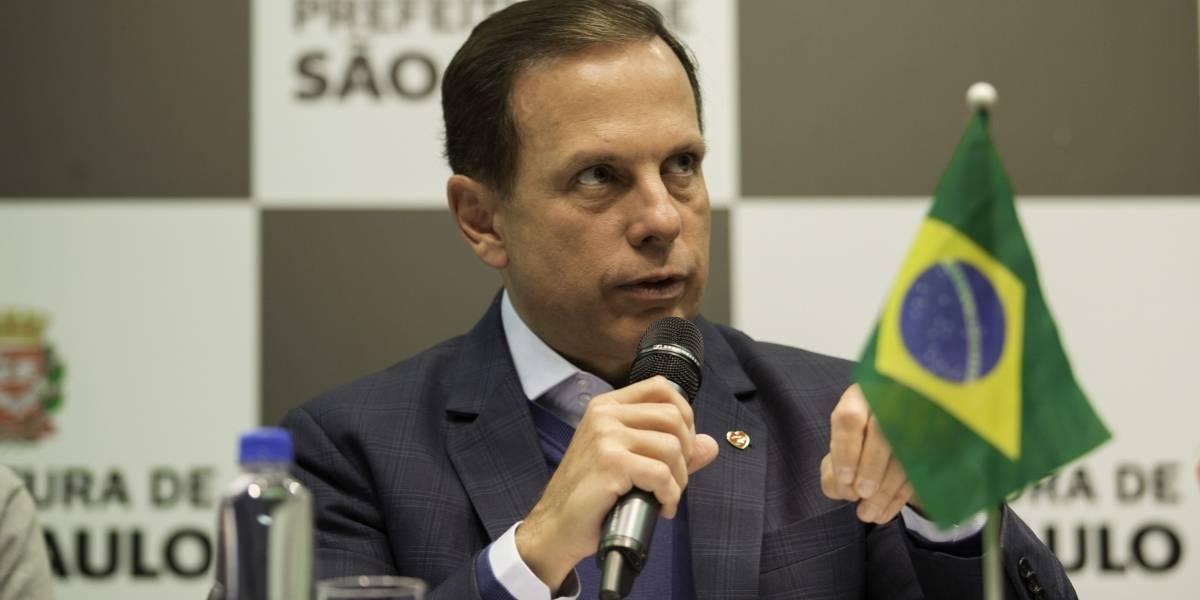 Regionalizadas, metas de Doria para São Paulo incluem obras maiores