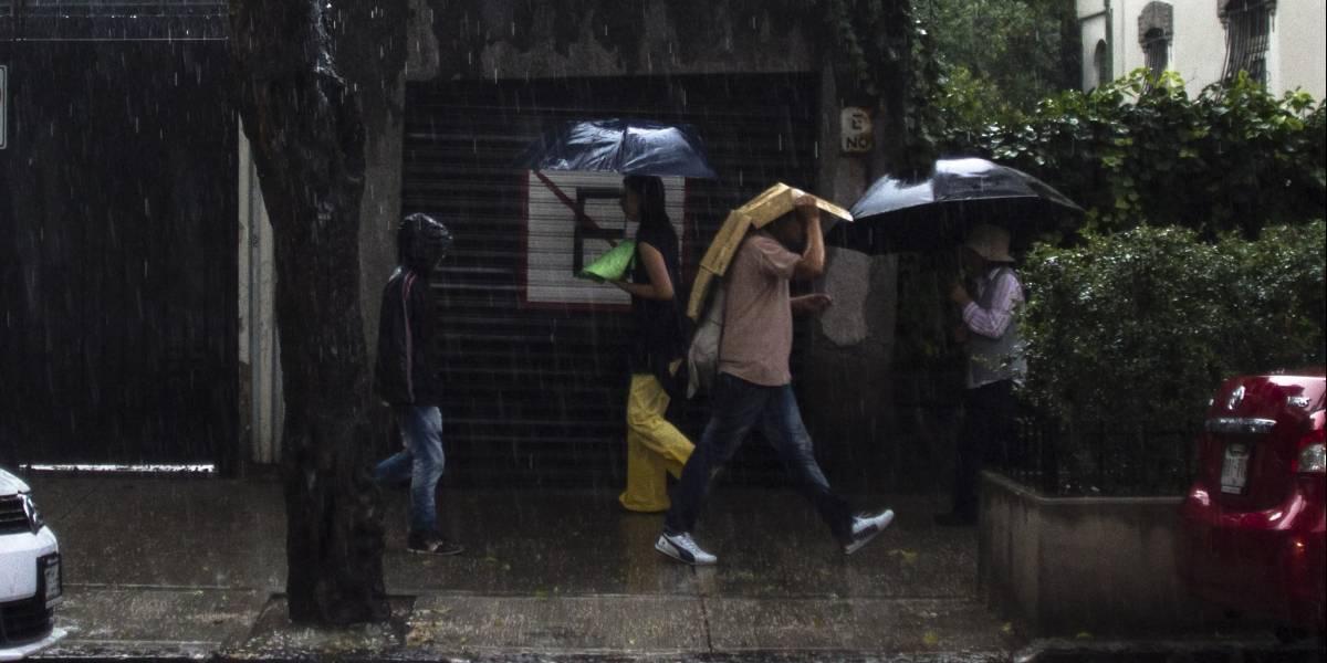 Continuarán tormentas fuertes y rachas de viento en la mayor parte del país