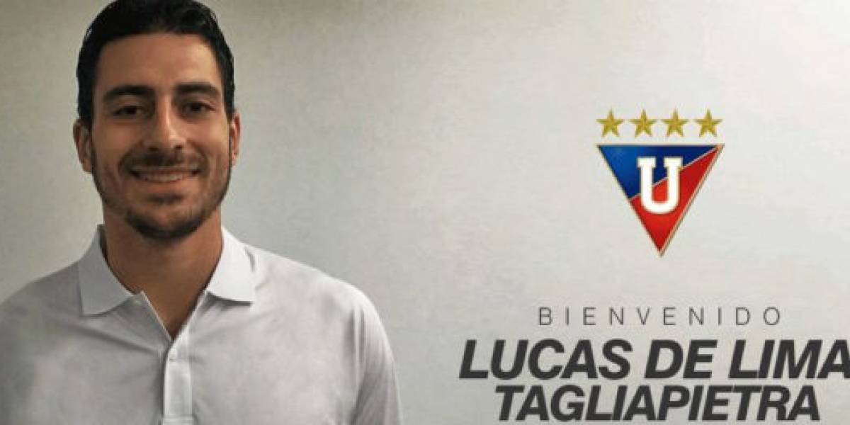 Lucas de Lima demandó a Liga de Quito por una fuerte suma de dinero