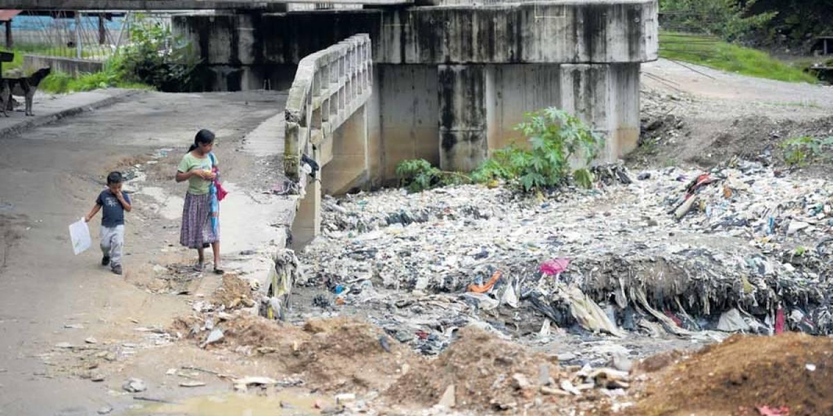 Chinautla endurece medidas contra quienes tiren basura
