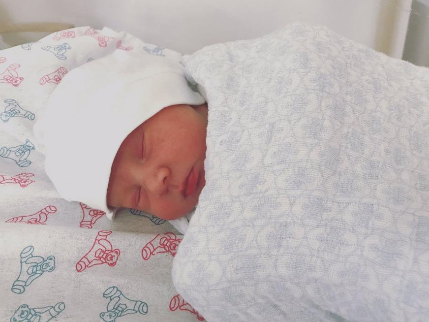 Bebé de Valeria Collazo