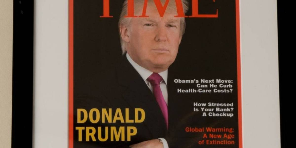 Portada de revista Time sobre Trump es falsa
