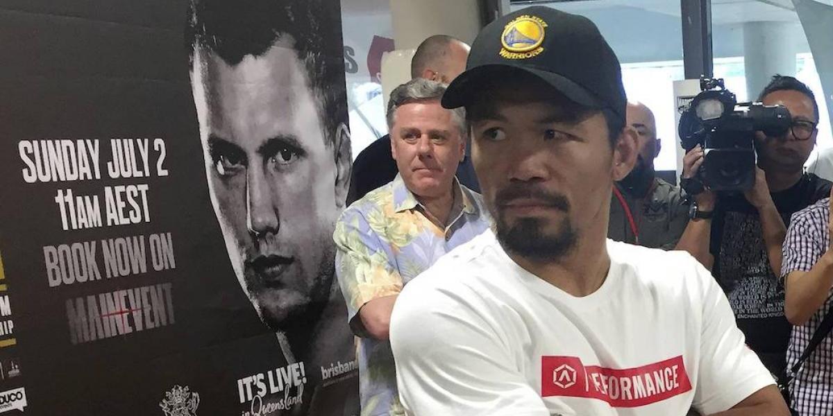 Manny Pacquiao buscará la revancha con Mayweather o el retiro