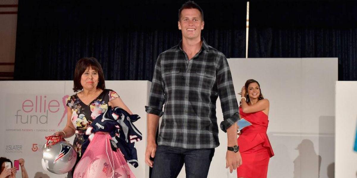 Tom Brady volvió a ser elegido como el Jugador Número Uno de la NFL
