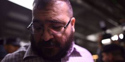 Llegada de Javier Duarte al Tribunal Tercero